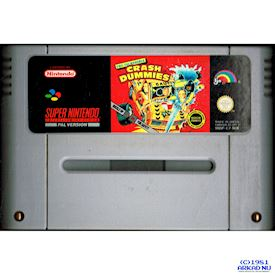 THE INCREDIBLE CRASH DUMMIES SNES