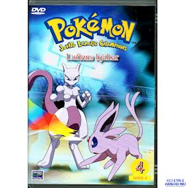 POKEMON JOHTO LEAGUE CHAMPIONS LUFTENS HJÄLTAR DVD