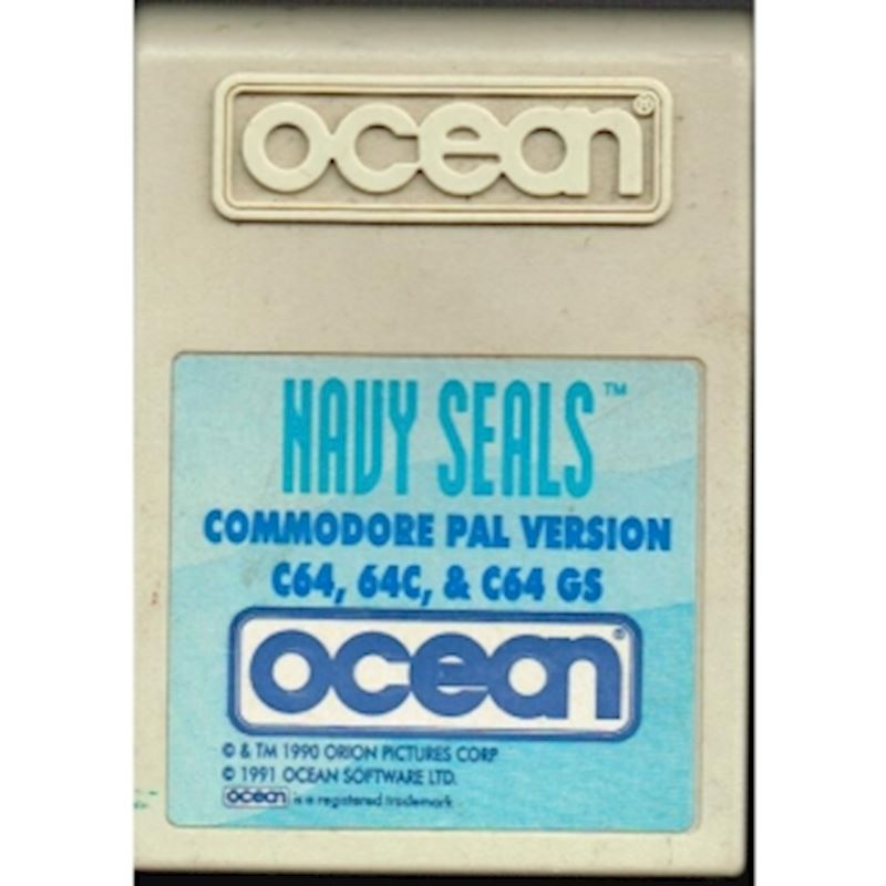 NAVY SEALS C64 CARTRIDGE