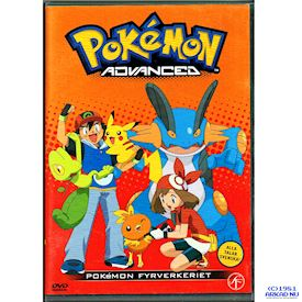 POKEMON ADVANCED POKEMON FYRVERKERIET DVD