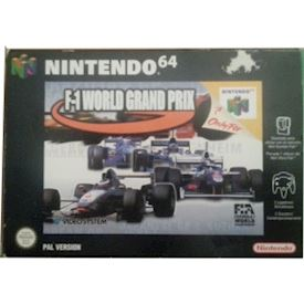 F-1 WORLD GRAND PRIX NINTENDO 64