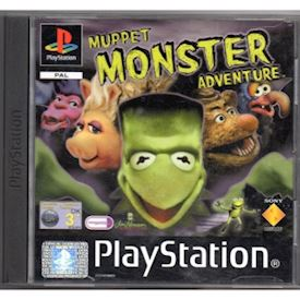 MUPPET MONSTER ADVENTURE PS1