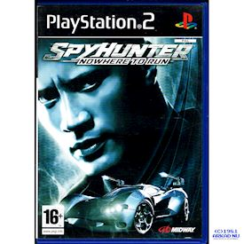 SPYHUNTER NOWHERE TO RUN PS2
