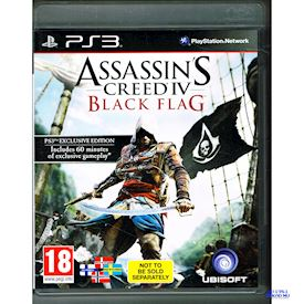 ASSASSINS CREED IV BLACK FLAG EXCLUSIVE EDITION PS3