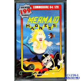 MERMAID MADNESS C64 KASSETT