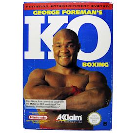 GEORGE FOREMANS KO BOXING NES