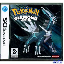 POKEMON DIAMOND VERSION DS SVENSK UTGÅVA