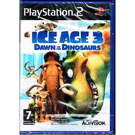 ICE AGE 3 DAWN OF THE DINOSAURS PS2 NYTT