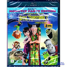 HOTEL TRANSYLVANIA 3 A MONSTER VACATION MONSTER PARTY EDITION BLU-RAY