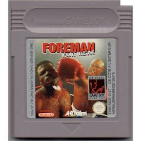 FOREMAN FOR REAL GAMEBOY
