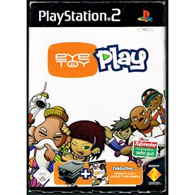 EYETOY PLAY INKLUSIVE KAMERA PS2