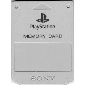 MINNESKORT PLAYSTATION 1MB