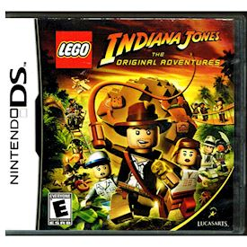 LEGO INDIANA JONES THE ORIGINAL ADVENTURE DS