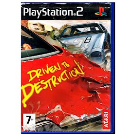 DRIVEN TO DESTRUCTION PS2
