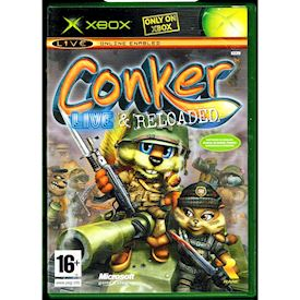 CONKER LIVE & RELOADED XBOX