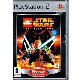 LEGO STAR WARS THE VIDEOGAME PS2 PLATINUM