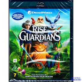 RISE OF THE GUARDIANS / DE FEM LEGENDERNA BLU-RAY