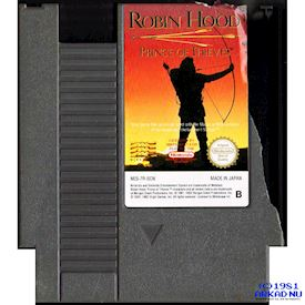 ROBIN HOOD PRINCE OF THIEVES NES SCN