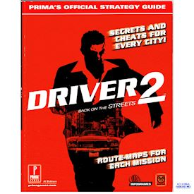 DRIVER 2 PRIMAS OFFICIAL STRATEGY GUIDE