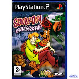 SCOOBY DOO UNMASKED PS2