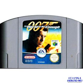 007 THE WORLD IS NOT ENOUGH N64