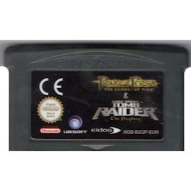 PRINCE OF PERSIA & TOMB RAIDER GAMEBOY ADVANCE
