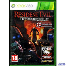 RESIDENT EVIL OPERATION RACCOON CITY XBOX 360