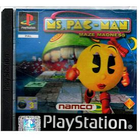 MS PAC-MAN MAZE MADNESS PS1