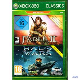 FABLE II + HALO WARS BUNDLE PACK XBOX 360