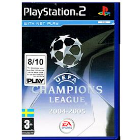UEFA CHAMPIONS LEAGUE 2004-2005 PS2