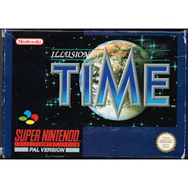ILLUSION OF TIME SNES