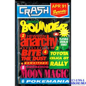 CRASH PRESENTS APR 91 ZX SPECTRUM