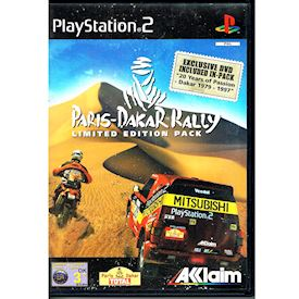 PARIS-DAKAR RALLY LIMITED EDITION PACK PS2