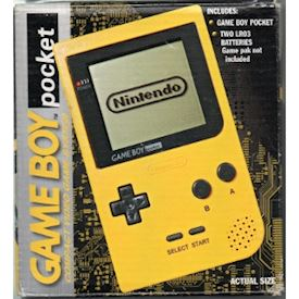 GAMEBOY POCKET GUL