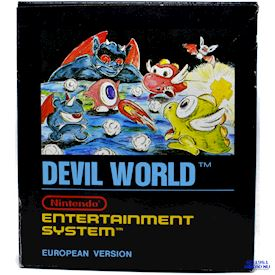 DEVIL WORLD NES SCN