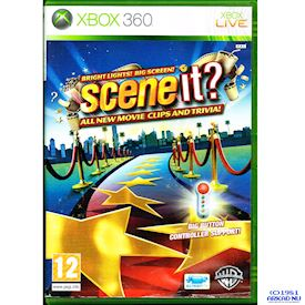 SCENE IT BRIGHT LIGHTS BIG SCREEN XBOX 360