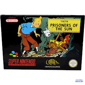TINTIN PRISONERS OF THE SUN SNES