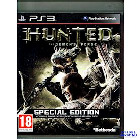 HUNTED THE DEMONS FORGE SPECIAL EDITION PS3