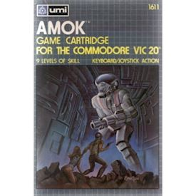 AMOK VIC 20 CARTRIDGE NYTT