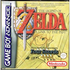 THE LEGEND OF ZELDA A LINK TO THE PAST + FOUR SWORDS GBA