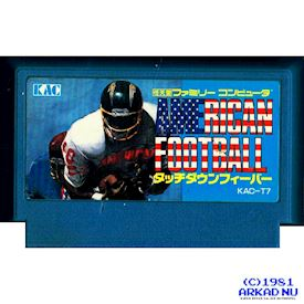 AMERICAN FOOTBALL TOUCHDOWN FEVER FAMICOM