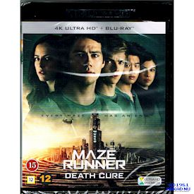 MAZE RUNNER THE DEATH CURE 4K ULTRA HD + BLU-RAY