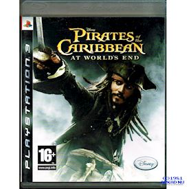 PIRATES OF THE CARIBBEAN AT THE WORLDS END PS3