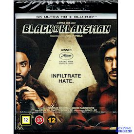 BLACKKKLANSMAN 4K ULTRA HD + BLU-RAY