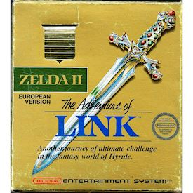 ZELDA II THE ADVENTURE OF LINK NES SCN