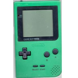 GAMEBOY POCKET GREEN