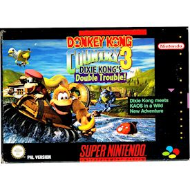 DONKEY KONG COUNTRY 3 DIXIE KONG'S DOUBLE TROUBLE SNES SCN