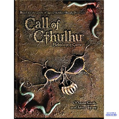 CALL OF CTHULHU ROLEPLAYING GAME D20 HARDCOVER