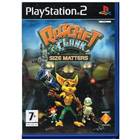 RATCHET & CLANK SIZE MATTERS PS2