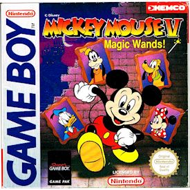 MICKEY MOUSE V MAGIC WANDS GAMEBOY MED SVENSK A4